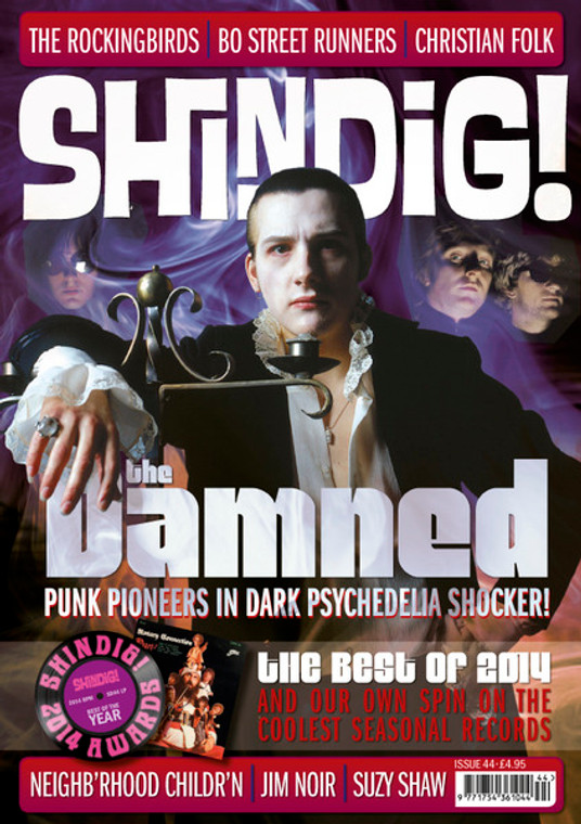 SHINDIG!  - #44- DAMNED , ROCKINGBIRDS AND ME, SUZY SHAW! -   BOOKS & MAGS