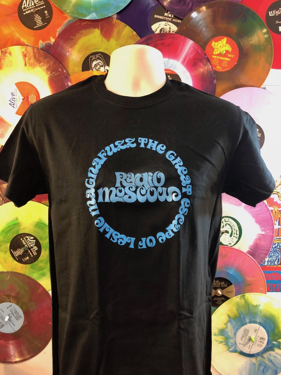 RADIO MOSCOW  - Great Escape of Leslie Magnafuzz-  BLACK  Tshirts