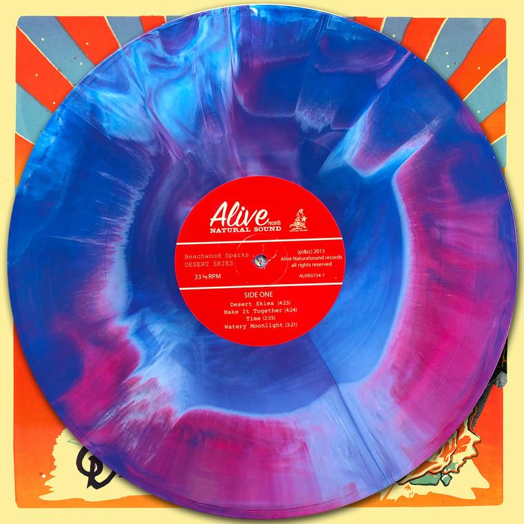 BEACHWOOD SPARKS  -Desert Skies (great psych pop pre GOSPELBEACH) LTD ED  of 100  on INCREDIBLE  STARBURST VINYL