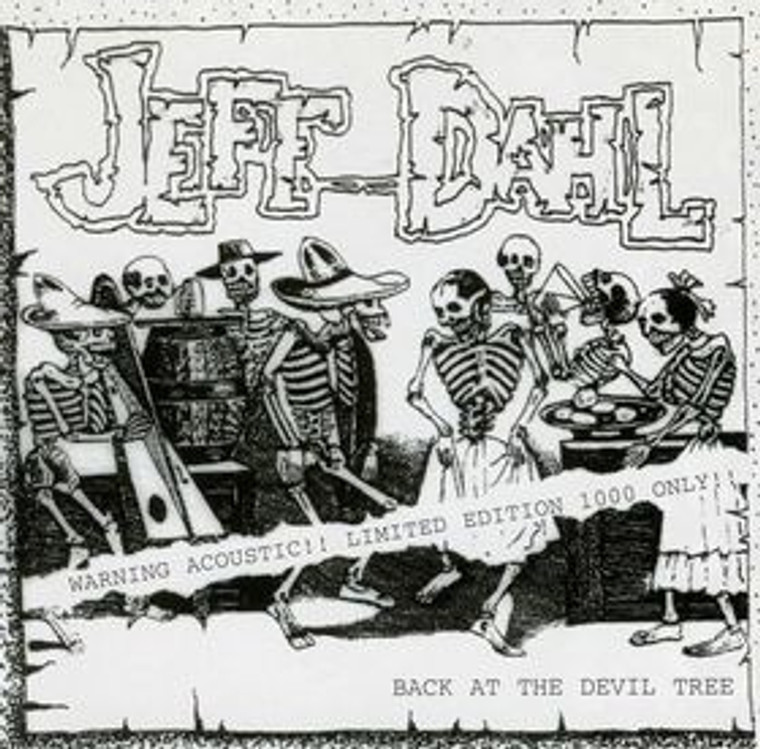 DAHL, JEFF   - Back at The Devil Tree Ranch - SAALE  (Stooges/ Dead Boys style  ) promo copies-    CD