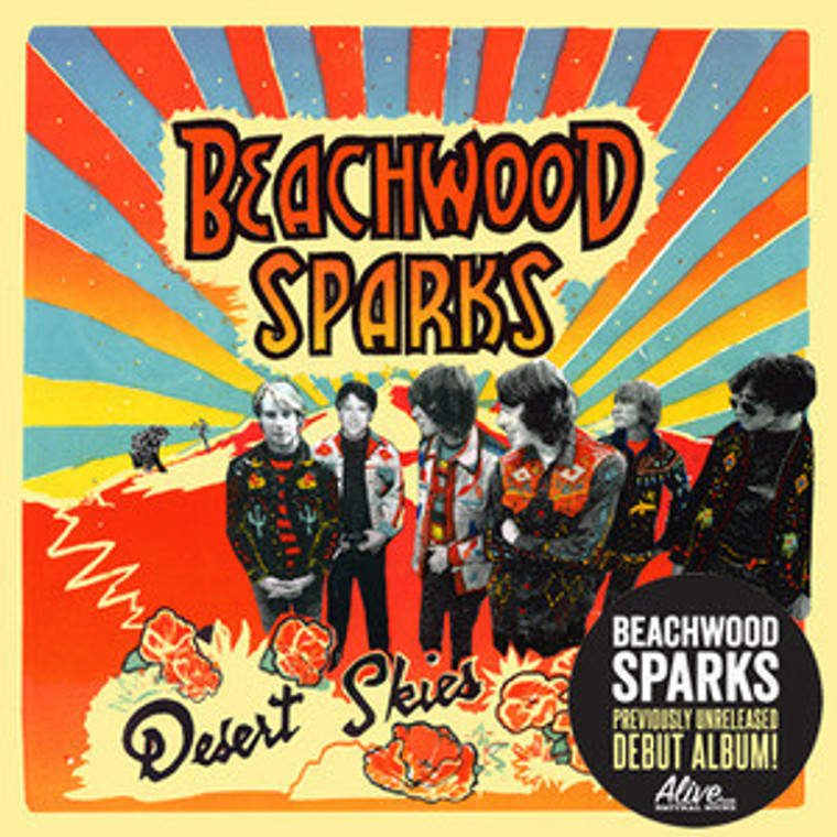 BEACHWOOD SPARKS  - Desert Skies (LA-based cosmic country-rock) digipack w bonus tracks CD