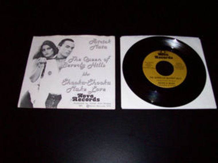 MATA, PATRICK  - Queen of Beverly Hills  LAST COPIES (1979  very rare. insane drag-queen novelty by Kommunity FK mastermind w pic slv )-  45 RPM