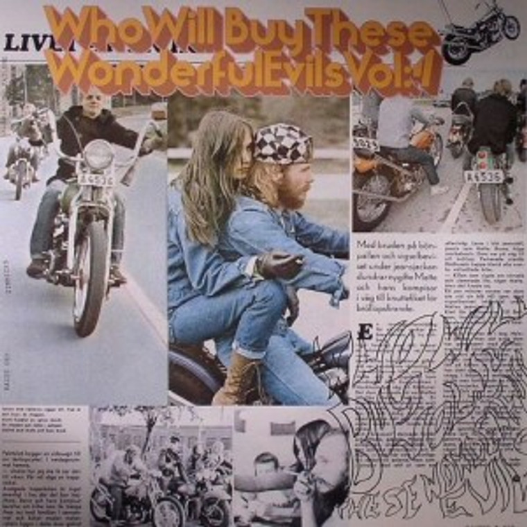 WHO WILL BUY THESE WONDERFUL EVILS Vol 4 (Pebbles of Sweden! 60s rare psych) COMPLP