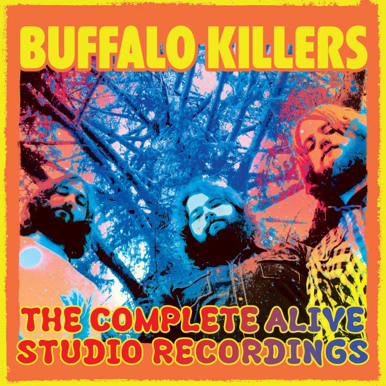 "BUFFALO KILLERS ""BOX SET""- The COMPLETE ALIVE STUDIO RECORDINGS  -ALL 6 LPS PLUS STICKER, POSTER & FREE BONUS LP!"