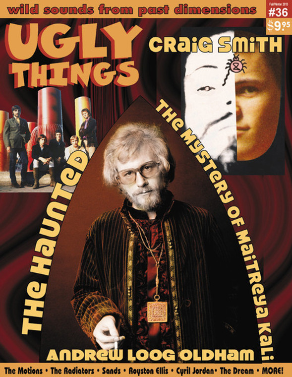 UGLY THINGS  - #36 - Haunted, Andrew Loog Oldham  -   Books/Mags
