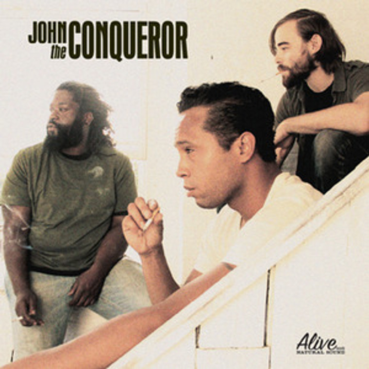 JOHN THE CONQUEROR-  ST (60s style raw rock and roll!)Digipack CD