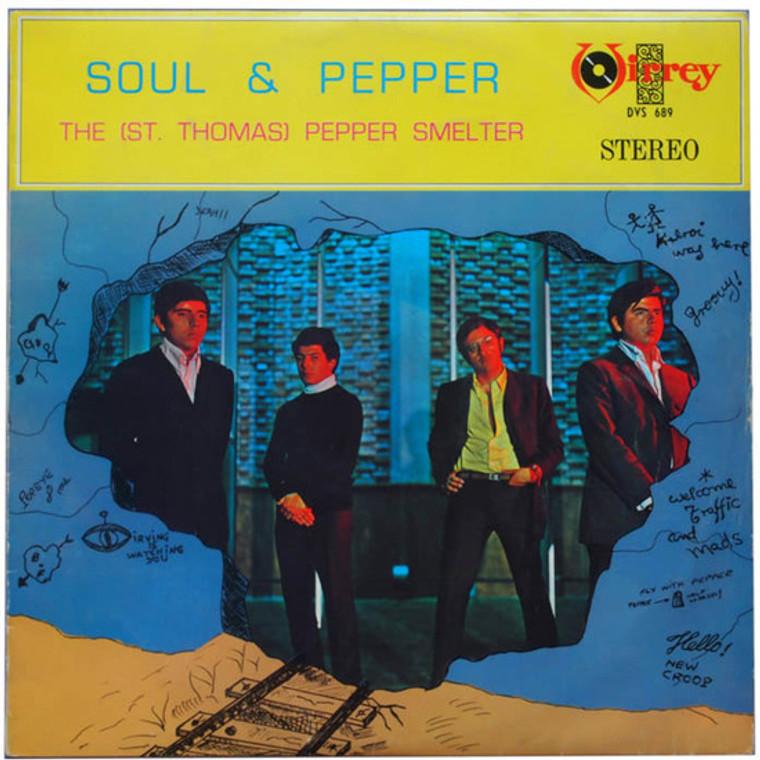 ST. THOMAS PEPPER SMELTER -Soul & Pepper mini slv replica (Peruvian 60s  psych freakbeat)- CD
