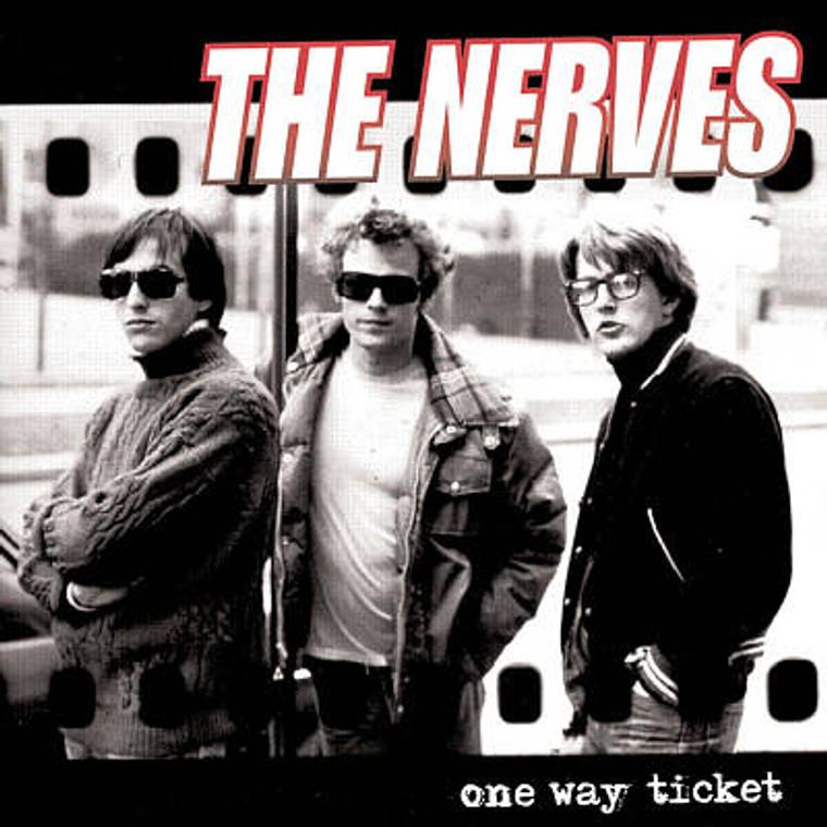 NERVES - One Way Ticket (70S POWERPOP) CLASSIC BLACK  VINYL LP