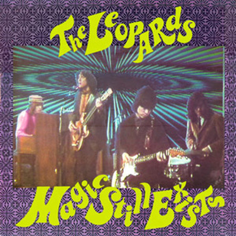 LEOPARDS-Magic Still Exists (Repress of the orig 1987 Kinks-style garage release ) GREEN   LP
