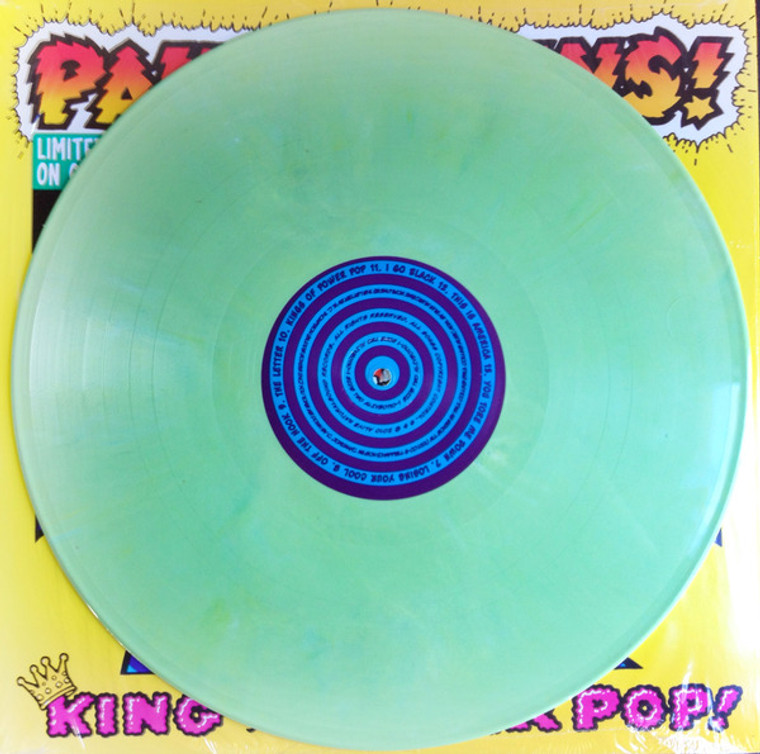 COLLINS, PAUL- King Of Power Pop! GREEN MARBLE vinyl - THIS COLOR AVAILABLE ONLY IN THE  BOX SET!
