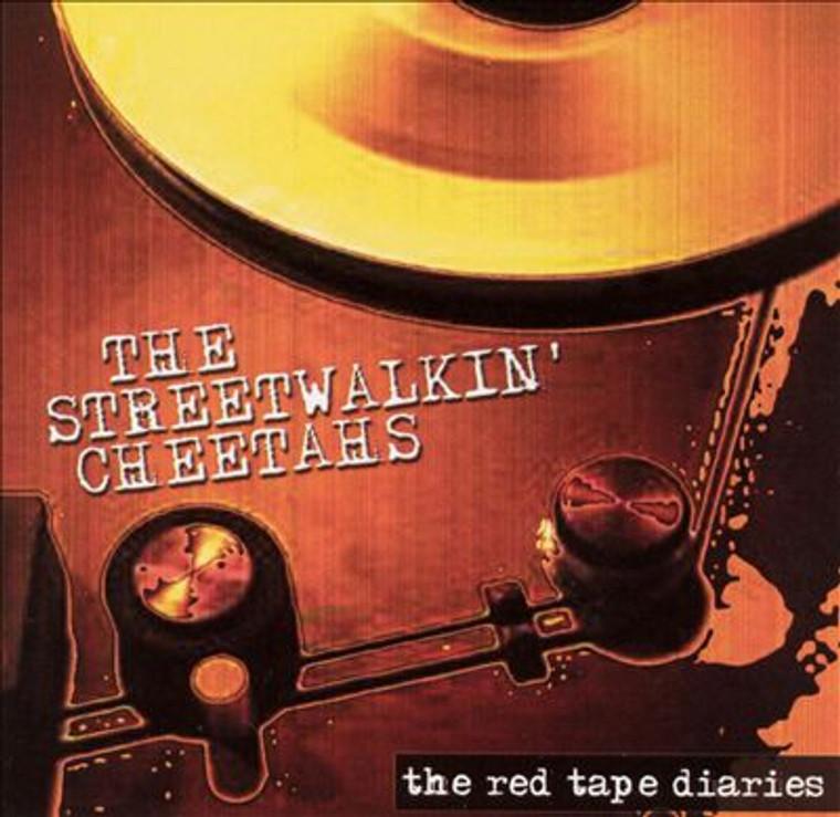 STREETWALKIN CHEETAHS - The Red Tape Diaries PROMO CD