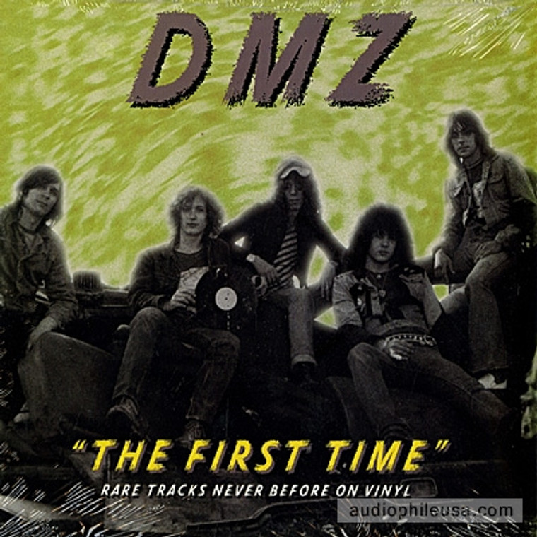 """DMZ - The First Time- Live demos 76'  (Boston garage psych legends)cover design by Greg Shaw 10"""""""
