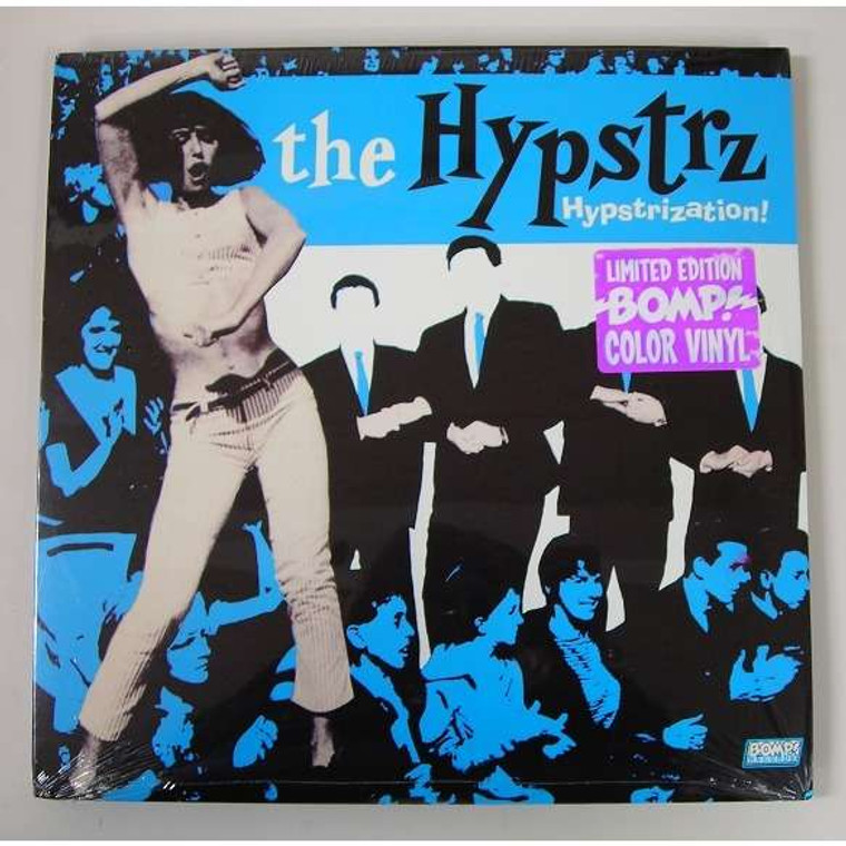 HYPSTRZ - Hypstrization (Incendiary '70s punk-era performances of '60s garage classics) Color  LP