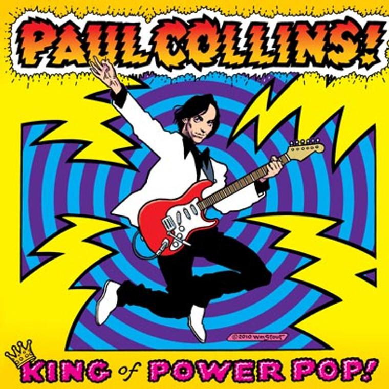 COLLINS , PAUL - King of Powerpop w. Nikki Corvette, Wally of the Romantics, and more (NERVES / BREAKAWAYS )digipack CD
