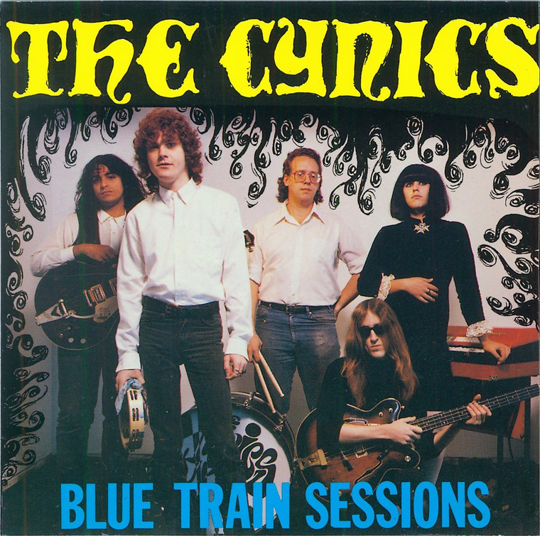 CYNICS  - Blue Train Sessions  (60s style garage classic) CD