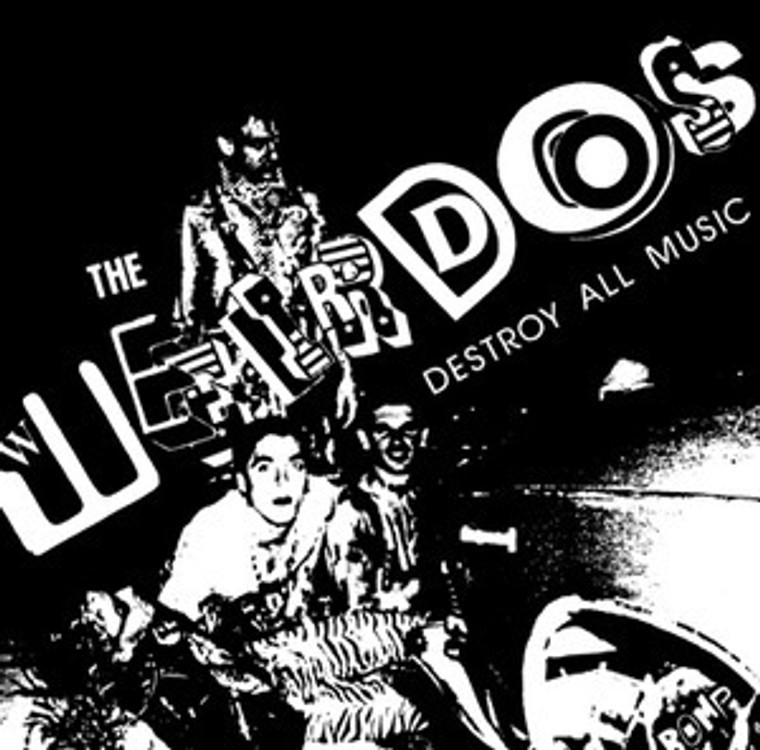 WEIRDOS - Destroy All Music 30th Anniv Ed- CLASSIC BLACK VINYL  LP