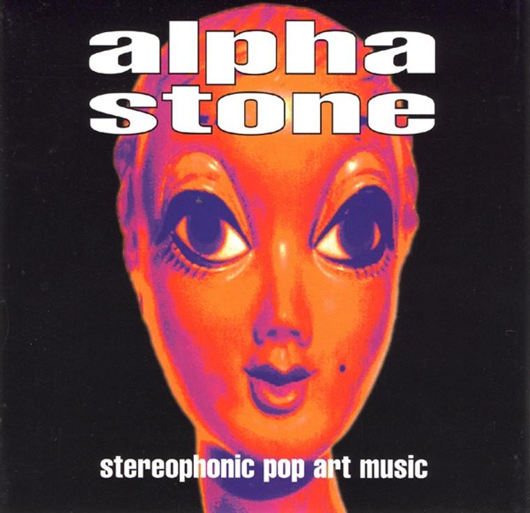 "ALPHA STONE (SPACEMEN 3  PSYCH) Stereophonic Pop Music 10"" LAST COPIES! -  LP"