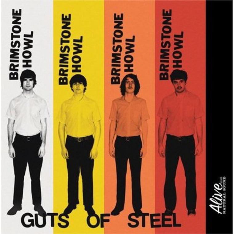 BRIMSTONE HOWL- Guts Of Steel (60s style garage prod by Dan of the Black Keys!)CD