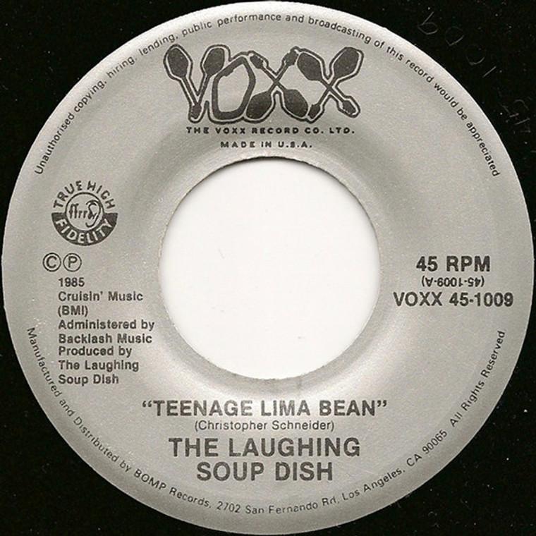 LAUGHING SOUP DISH - Teenage Lima Bean (rare 1985 Paisley underground ) 45 RPM
