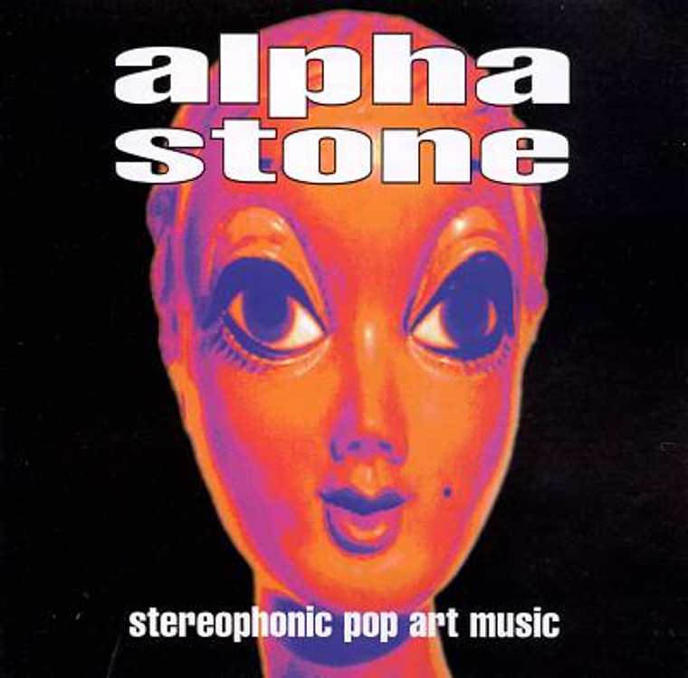ALPHA STONE (SPACEMEN 3- psych!) Stereophonic Pop Music - LAST FEW! CD