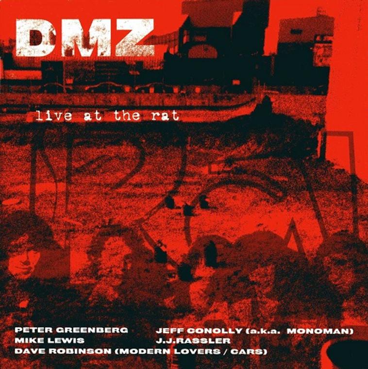 DMZ -Live at the Rat  (70s punk) BLACK VINYL LP