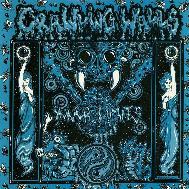 CRAWLING WALLS - Inner Limits -Great PEBBLES style psych garage  LAST COPIES  LP