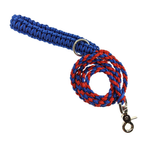 Blue & Red Paracord leash (Large)
