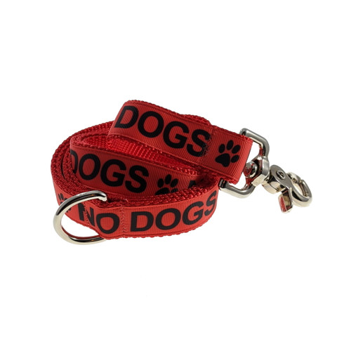 NO Dogs leash (Large)