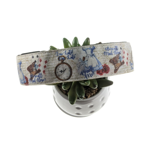 All Mad Here dog collar (X-Large)
