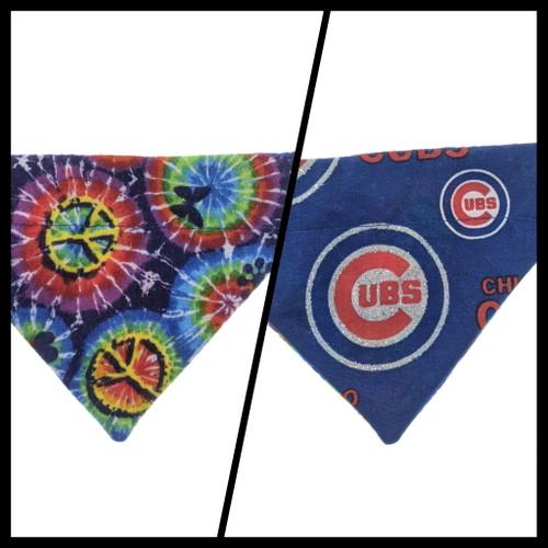 Cubs/Tye Dye Bandana (Small)