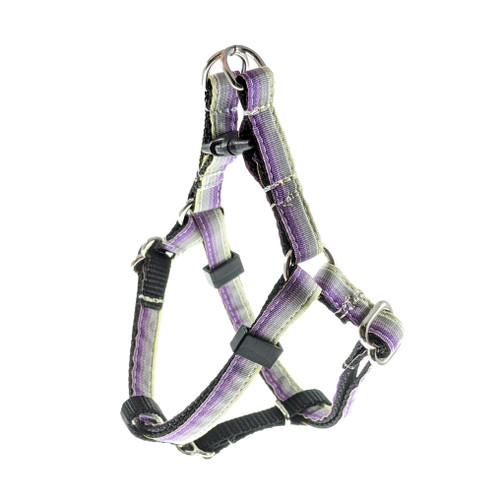 Purple Ombre Step-In Harness (XX-Small)