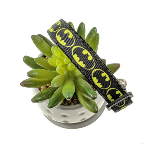 Batman Chain Martingale dog collar (Medium)