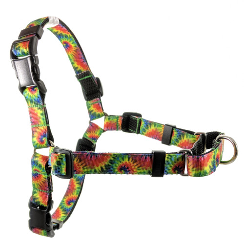 Tye Dye No Pull/Martingale  Harness (S/M)