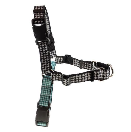 Houndstooth No Pull/Martingale Harness (L)