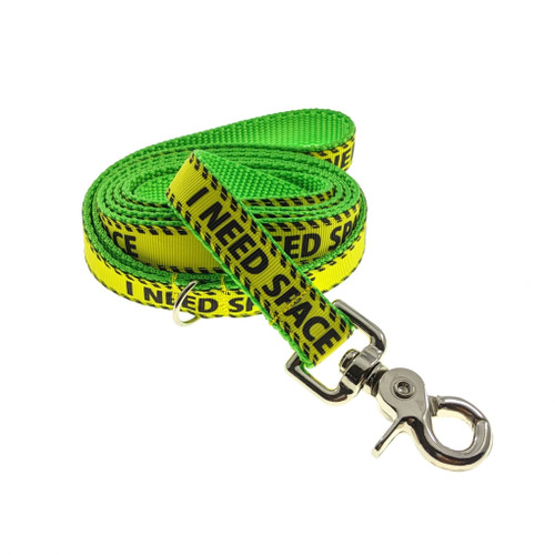 I Need Space on Lime Leash (Medium)
