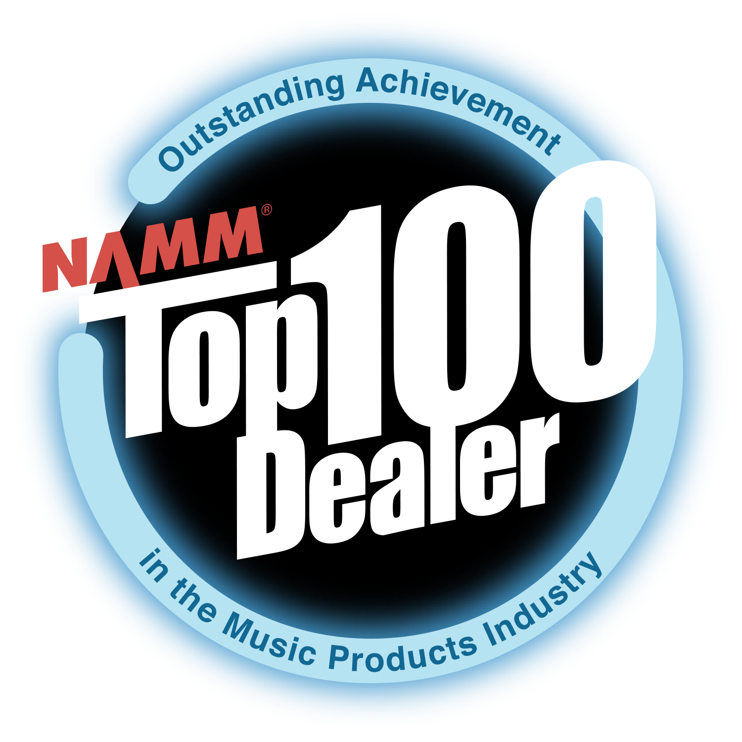 NAMM Top 100 Dealer Badge