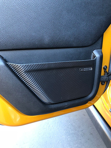 Slickrock Gear JK Pockets™ - Jeep Wrangler JK Driver Rear Door Pocket
