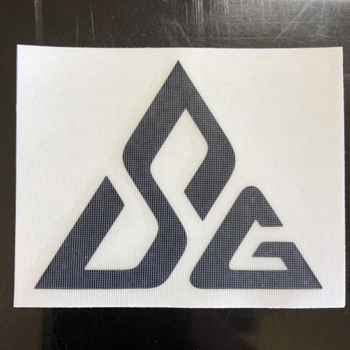 Slickrock Gear Logo Symbol Jeep Wrangler Fender Decal