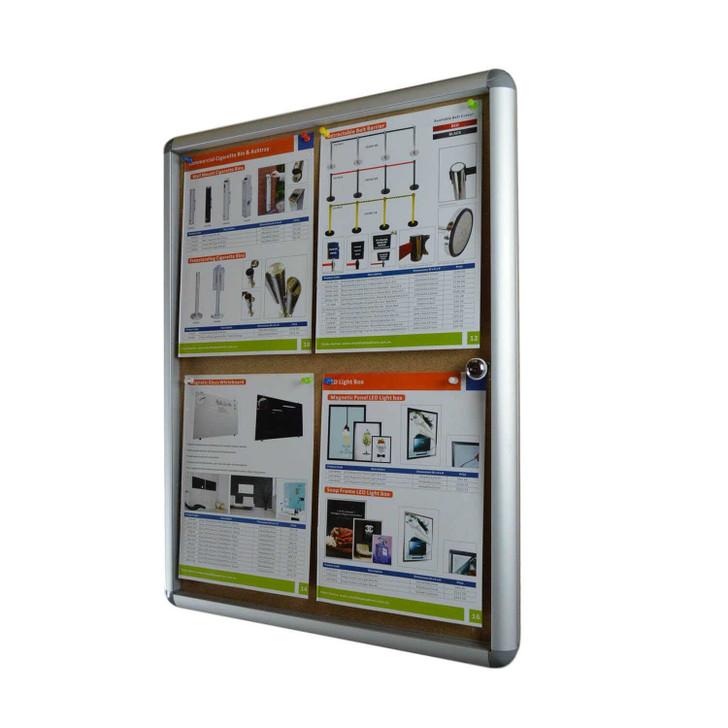Indoor notice board & pinboard board