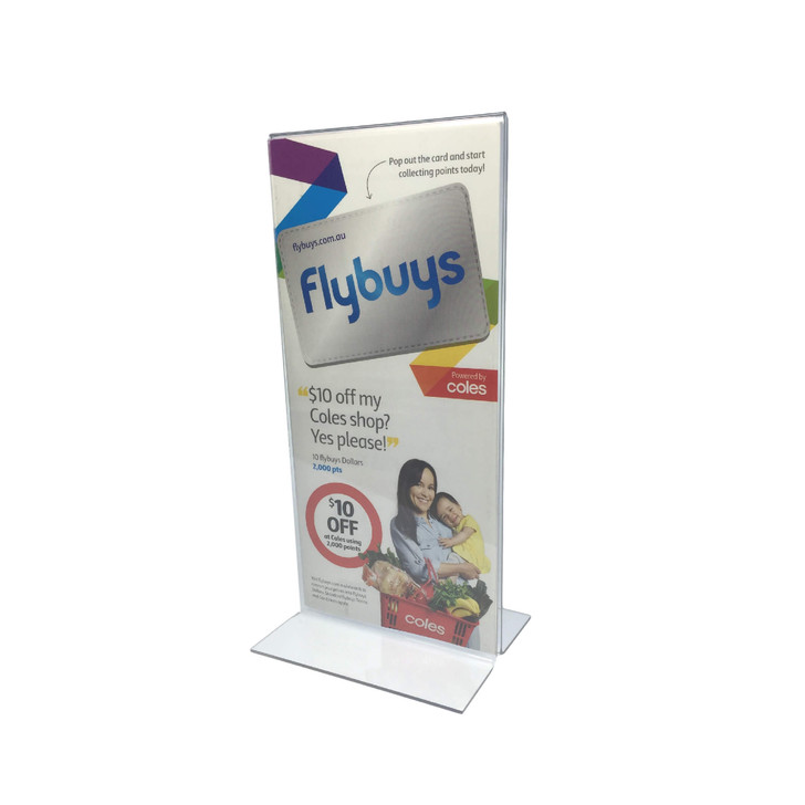 DL Acrylic Sign Holder Double Sided