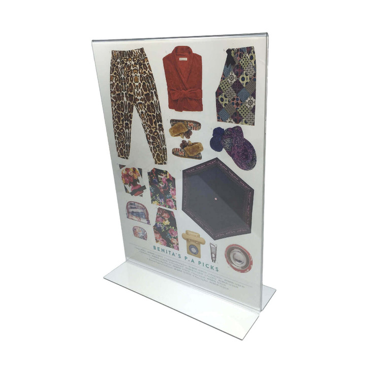 A4 Acrylic Sign Holder Double Sided