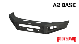 A2 Base Front Bumper (winch mount)