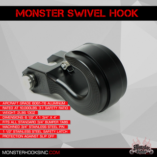 Monster Hooks Products - BODYGUARD BUMPERS