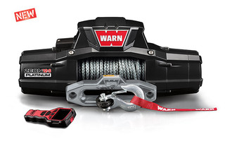 WARN ZEON 12-S Platinum Synthetic Winch #95960