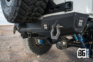 Jeep JK Stubby Rear Bumper