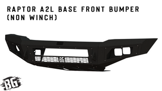 Raptor A2L Base Front Bumper (Non Winch)