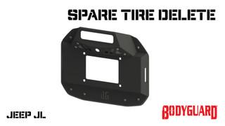 Jeep JL Spare Tire Delete