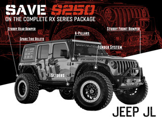 Jeep JL RX Series - Complete Package