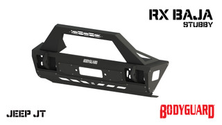 Jeep JT Gladiator Stubby Front Bumper - with Baja Bar