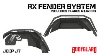 Jeep JT Gladiator Fender System (set)